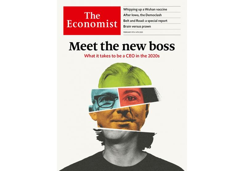 2020.2.8出版的《經濟學人》。取自《經濟學人》官網