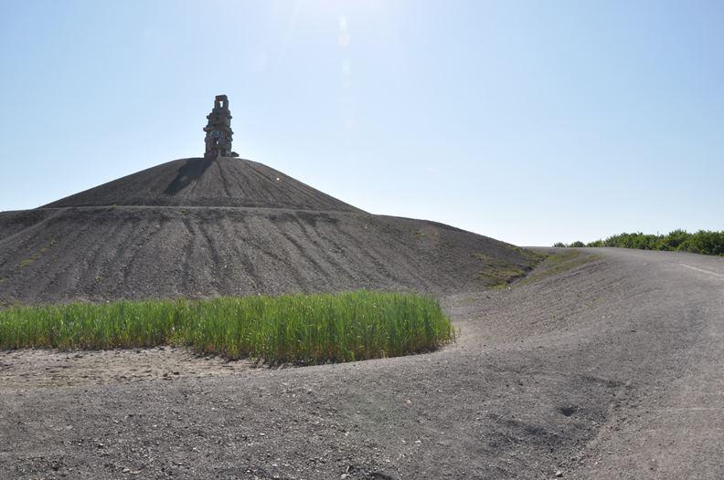 位於德國埃森的煤渣山。(圖片提供:楊天豪)