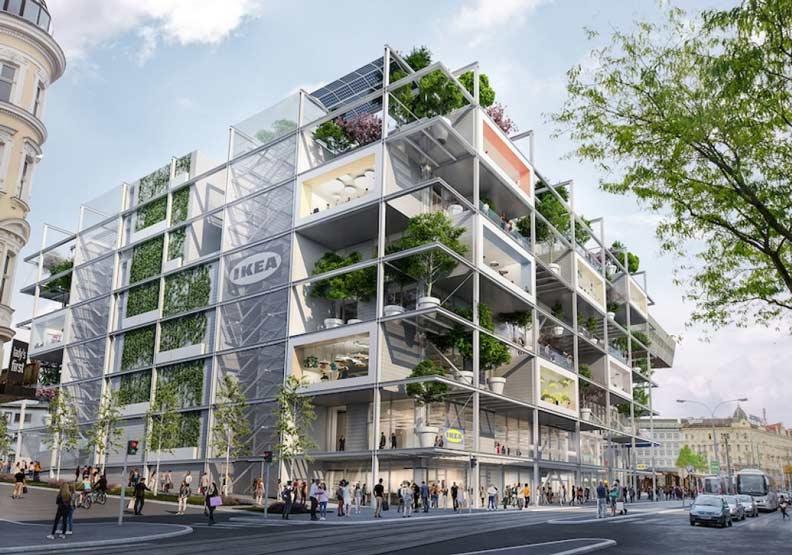 綠色消費新嘗試!這家維也納的IKEA為何沒有停車位?