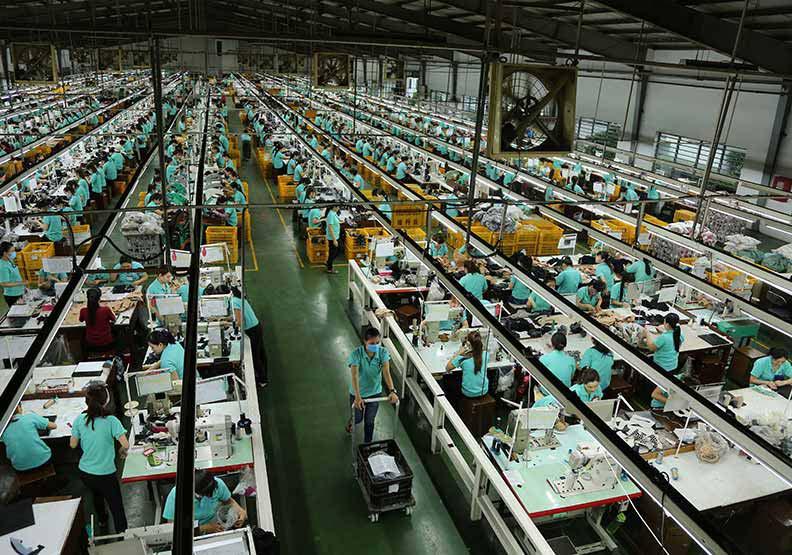 扮演重要產業樞紐的武漢停擺,許多工廠都受影響而無法順利開工。