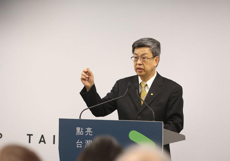 副總統陳建仁;蘇義傑攝。