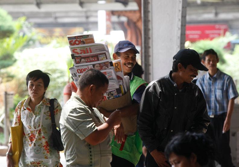 印尼資料照。陳宗怡攝