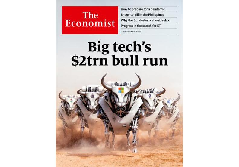 2020.2.22出版的《經濟學人》。取自《經濟學人》官網