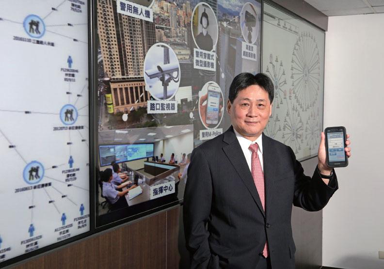 新北市政府警察局局長陳檡文。