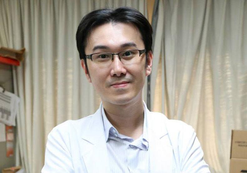 台北市立聯合醫院陽明院區胸腔內科主治醫師蘇一峰。取自蘇一峰臉書