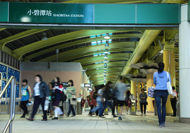 常被點名「廢站」,捷運小碧潭站有辦法活過來嗎?
