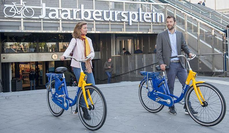 烏特勒支市府相當鼓勵居民用單車應付日常通勤需求。(圖片來源:Station Utrecht Centraal臉書)