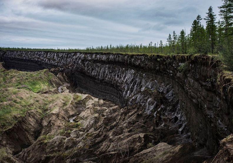 正在崩解中的永凍土
