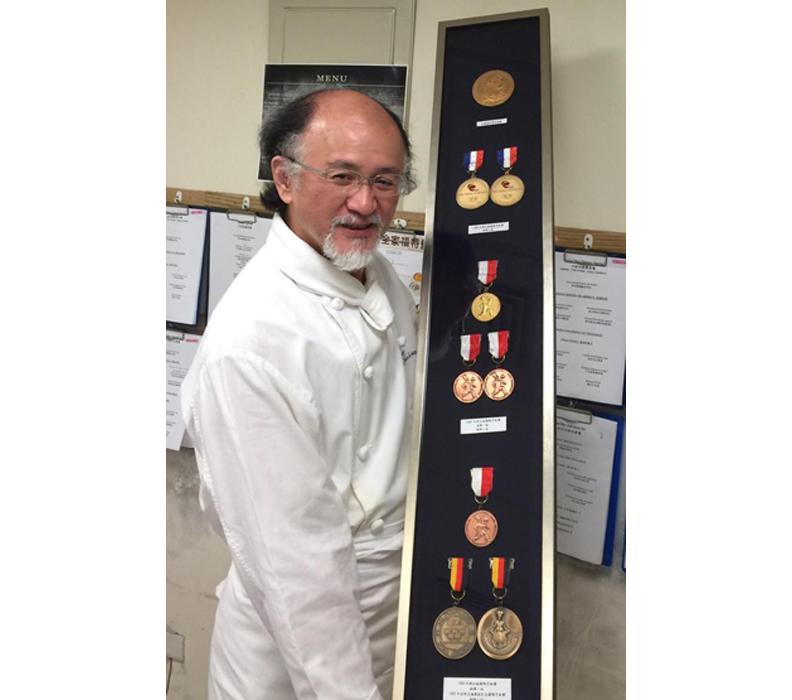台灣第一代法餐教父,同時也是知名法式料理餐廳法樂琪創辦人Jimmy張振民。作者提供