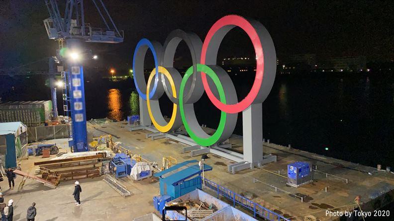 為了相隔多年的奧運盛事,日本已砸下鉅資打造許多硬體建設。(圖片來源:Tokyo 2020 臉書)