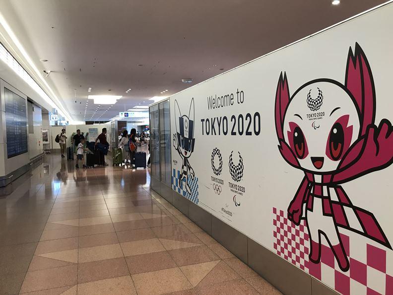 再過四個多月,東京奧運能否順利開幕?全世界都在關注。(攝影:高宜凡)