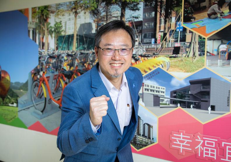 陳崗熒談到桃園市跟台灣未來的發展,相當興奮且看好5G到來的機會。