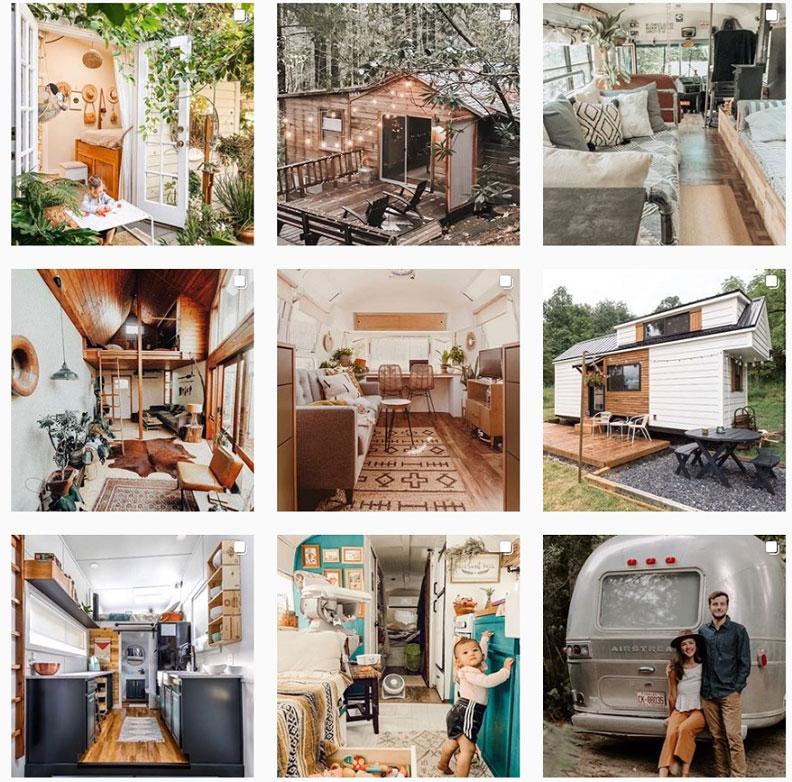 22歲的網路創業家Brent Heavener,在IG開設「@tinyhouse」帳號,收集了全世界各種小房子的照片。出自tinyhouse IG