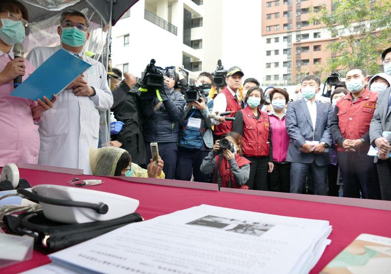 侯友宜擔心中央防疫措施做的仍不夠快。圖片取自新北市政府