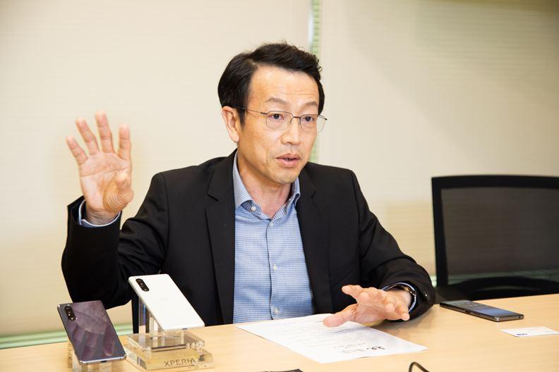 在台灣手機產業打滾多年的林志遠。