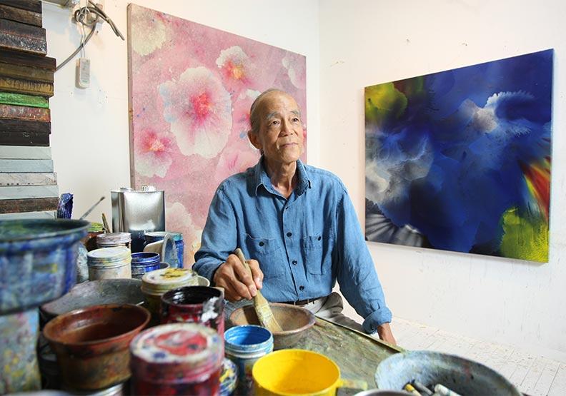 台東金樽改變了他 江賢二畫筆不停「恨不得可以再活個20年」