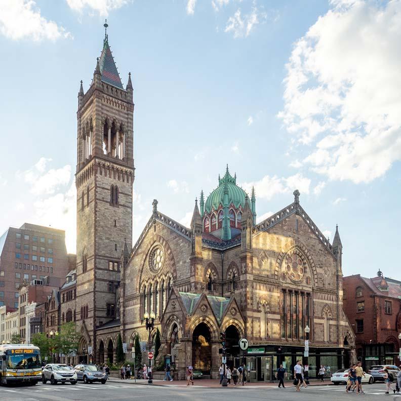 珍在文章中特別提到的阿爾靈頓街教堂(Arlington Street Church, Boston)。圖片取自Flickr, Ajay Suresh, CC By 2.0