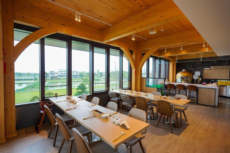 不僅建築本身講究環保和低碳,棗稻田的設計也考量了宜蘭多雨、潮濕、需抗強風的氣候特色。