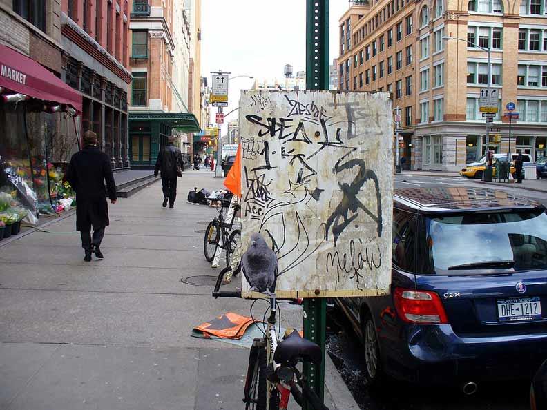 紐約的哈德遜街(Hudson Street)。圖片取自Flickr, Metro Centric, CC by2.0