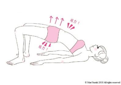 瑜伽改善虛寒體質!3 個動作減輕生理痛還能打造蜜桃臀