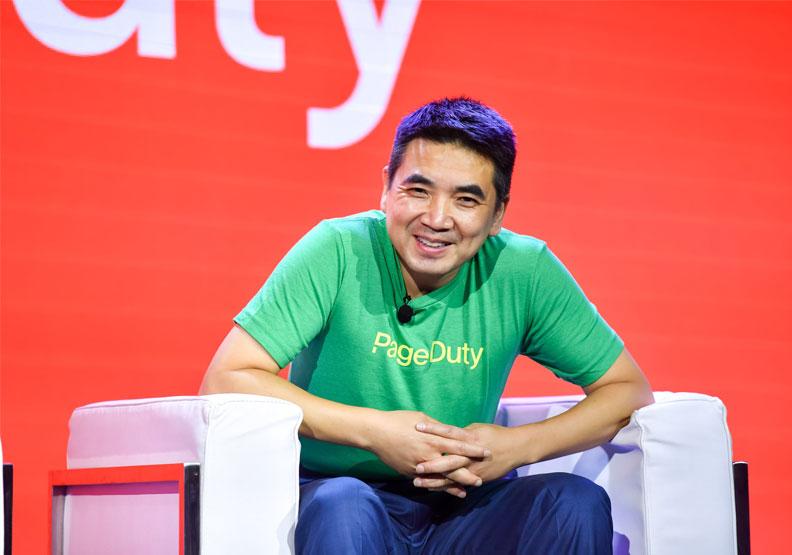 Zoom創辦人兼CEO袁征來自中國。取自@Zoom_us twitter