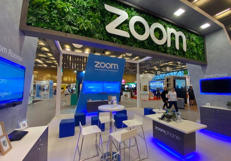 Zoom視訊已有不少中小企業與學校愛用。圖片來自 Zoom Twitter