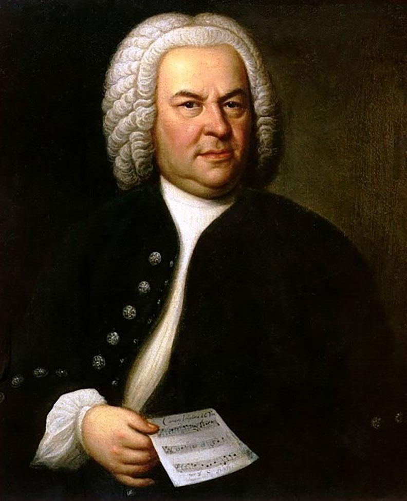 巴赫(Johann Sebastian Bach)。取自維基百科