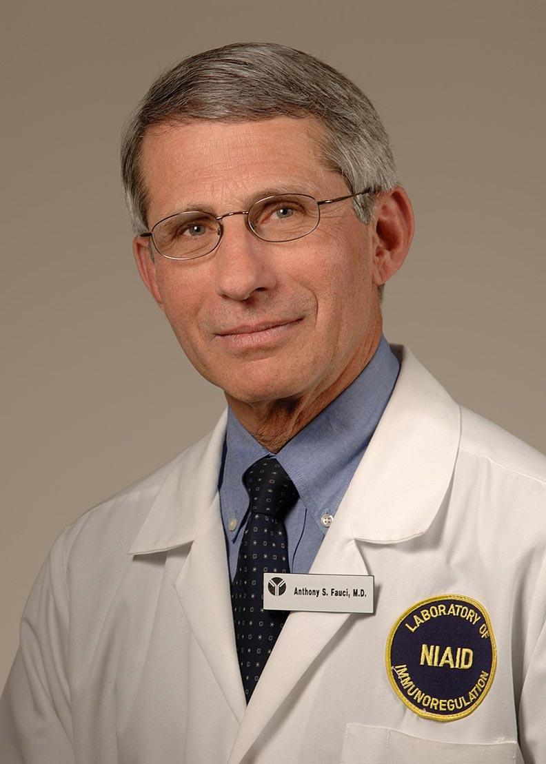 美國公共衛生專家佛奇(Anthony Fauci)。取自維基百科