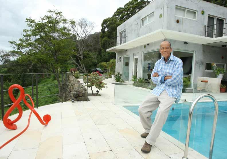 江賢二位於台東的家。
