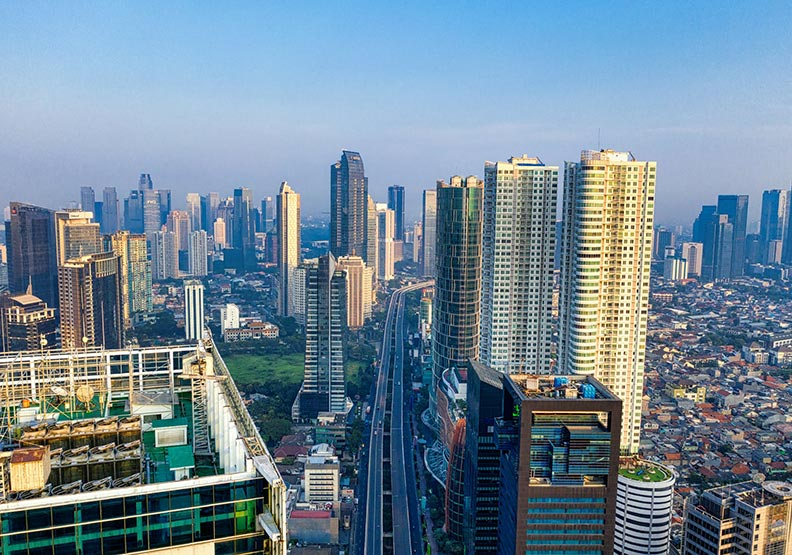 印尼雅加達。取自pexels