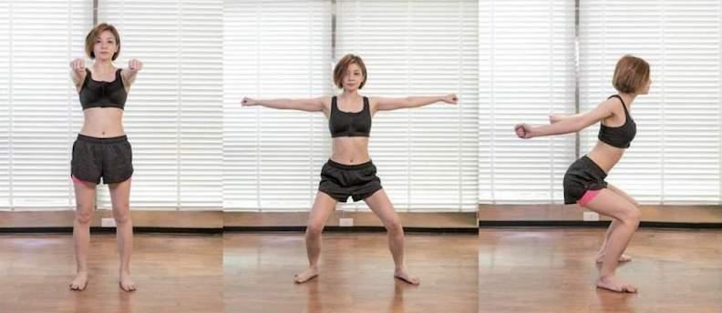 核心肌肉群腹部運動。