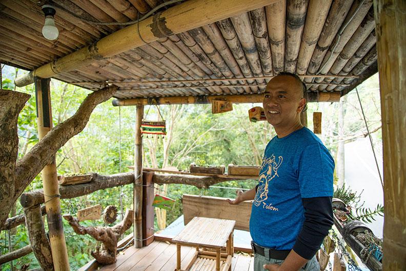 土坂部落的Talem 小米學堂。