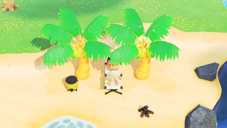 可以整天躺在沙灘上,什麼事都不做;網友提供。