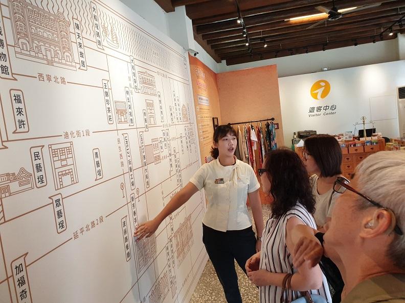 臺北市政府大稻埕遊客中心提供。