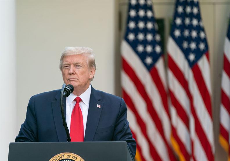 美國總統川普。取自flickr-The White House