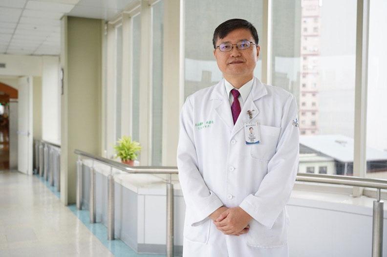 聯新國際醫院腎臟科主任林盈光;聯新國際醫院提供。
