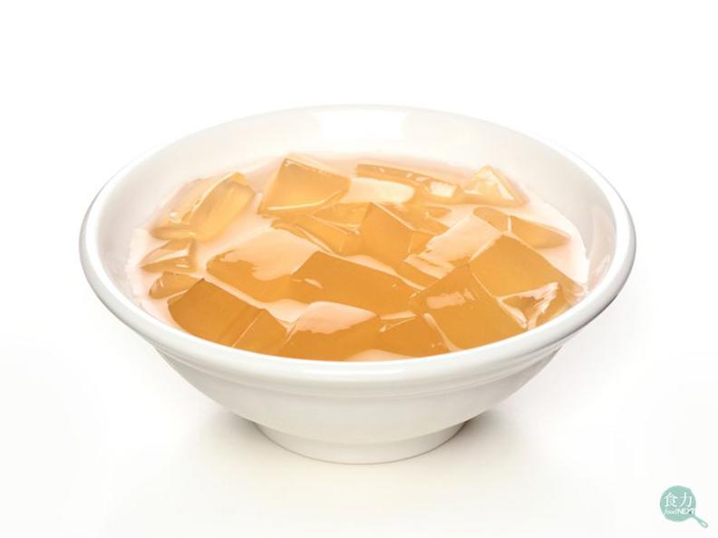 軟Q的愛玉適合和檸檬飲品搭配。