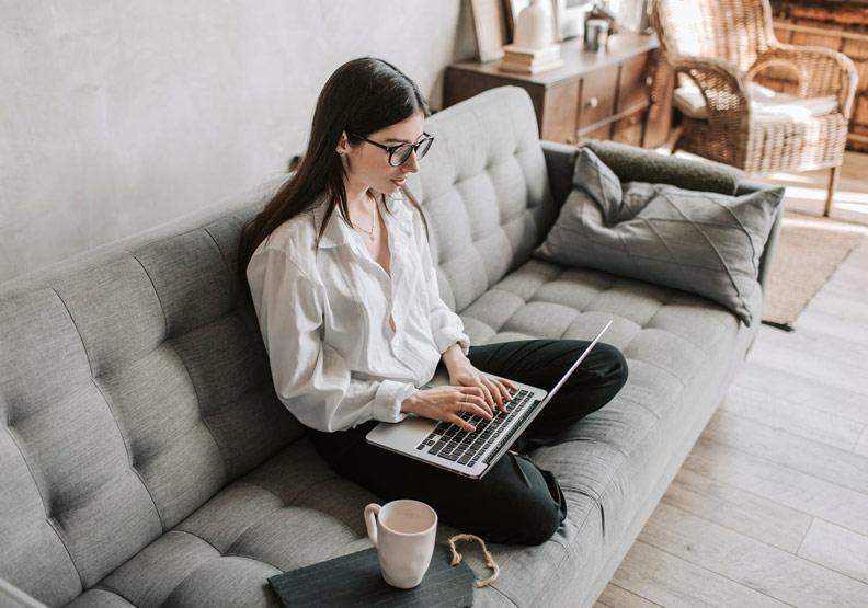 在家工作免通勤,每天省50分鐘和兩千美元