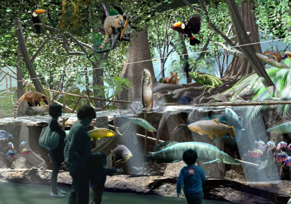 雨林探險區。圖片取自Xpark官網