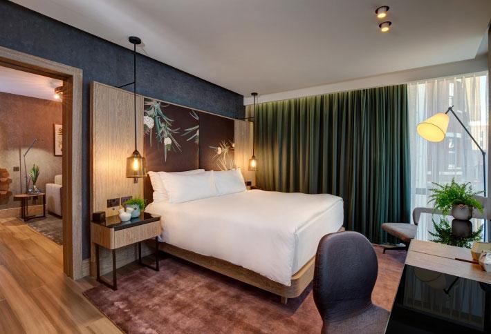英國希爾頓飯店擁有全球首間「全素套房」。來源:Hilton