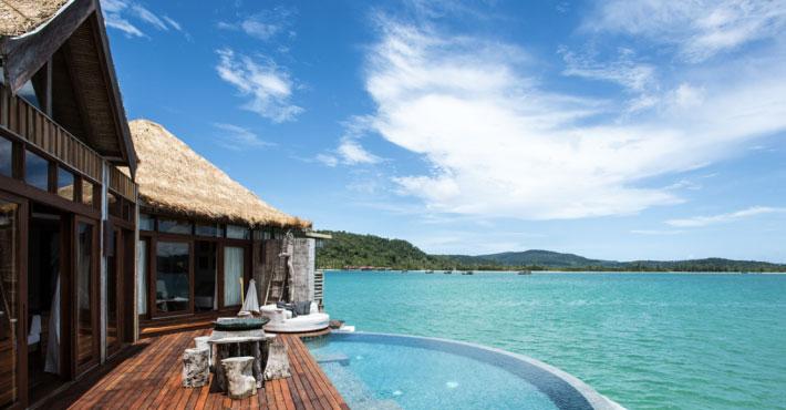 柬埔寨 Song Saa Private Island 是柬埔寨第一個生態旅遊據點。來源:Song Saa Private Island