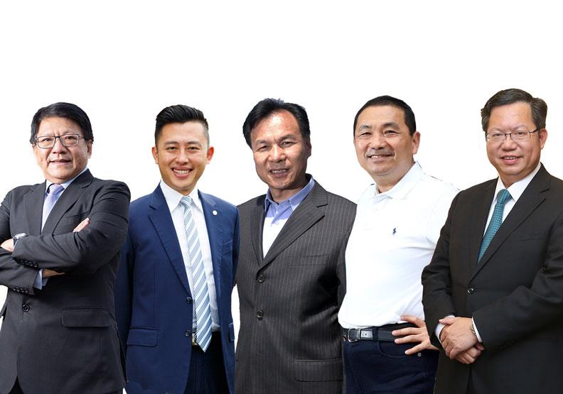 2020《遠見》5星縣市長:侯友宜、鄭文燦、林智堅、潘孟安、劉增應