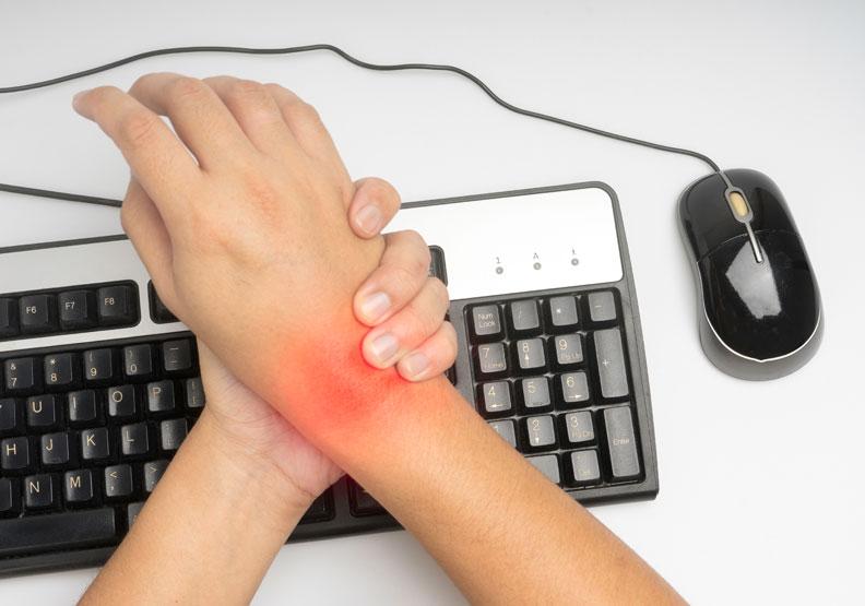 腕隧道症候群:最常見的周邊神經受夾迫疾病