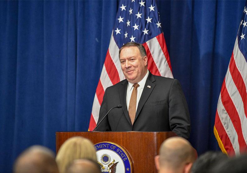 美國國務卿龐佩奧,圖片來自GPA Flickr