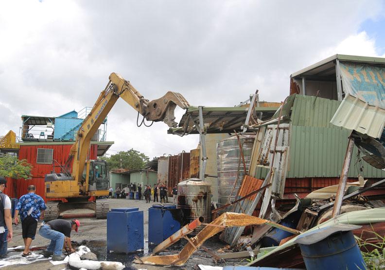 侯友宜上任後,積極整頓五股垃圾山。(圖片提供:新北市政府)
