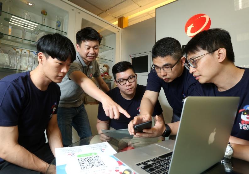 趨勢科技的工程師團隊,研發出「防詐達人」。