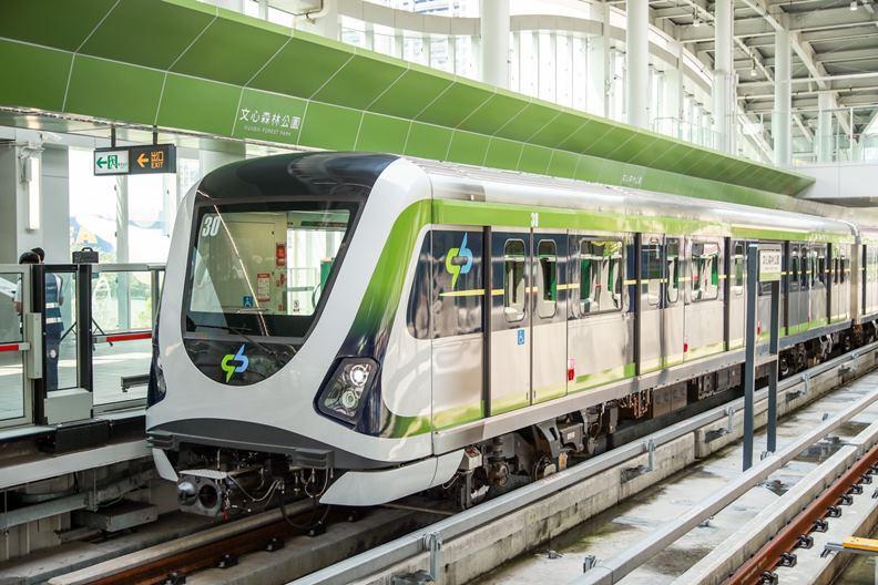 再過不久,台中即將成為第三個擁有捷運的台灣城市。(圖片取自盧秀燕臉書)