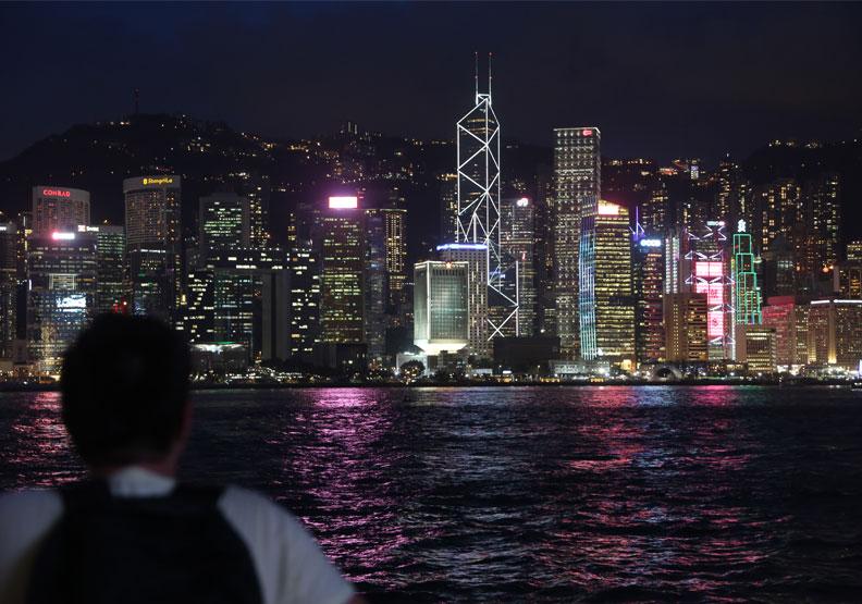 香港尖沙咀,陳之俊攝