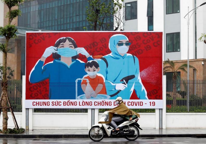 越南人對於防疫的態度非常用心