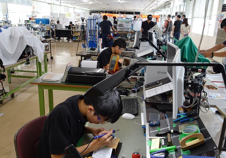 富山縣政府讓學生有機會到職場體驗實習,盡可能降低畢業後錯誤雇用的發生機率。